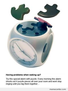 Have problems when waking up?