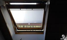 Die Plissees von sensuna® - auch für Ihr Dachfenster / pleated shades by sensuns® - also for your roof window