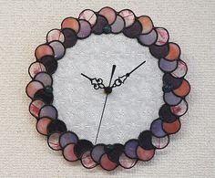 Reloj de pared- Vidrio