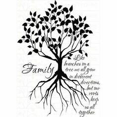 family tree tattoos | Quotes / Family Tree Tattoo | We Heart It