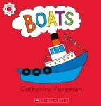 The new series of brightly-illustrated books on transport by Catherine Foreman is called 'Machines and Me'. Boats is one title in this series, which also i Children's Book Awards, Love Machine, Preschool Books, Children's Picture Books, Child Love, Book Title, New Series, Feeling Happy, Drawing For Kids