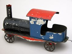 Early American Tin: Painted Train