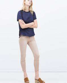 cropped trousers from ZARA