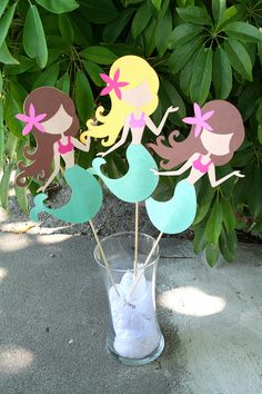 Mermaid Birthday Banner by PaperPartyParade on Etsy