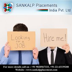 Seek and you shall find, Sankalp Placement can aid you to find your ideal job. Sankalp Placements where job opportunities grow without stopping. #sankalpplacement #jobseeker #career #opportunity
