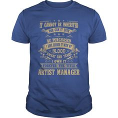 I Own It Forever The Title Artist Manager T Shirt, Hoodie Artist Manager
