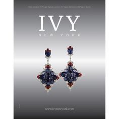 Sometimes Unique as part of inspiration.. Cross Fire Earings...#blue #spinels #red #diamonds #ivy #ivynewyork #handcrafted www.ivynewyork.com Red Diamonds, Jewelry Boards, Ivy, Diamond Earrings, Bling, York, Jewels, Instagram Posts, Unique