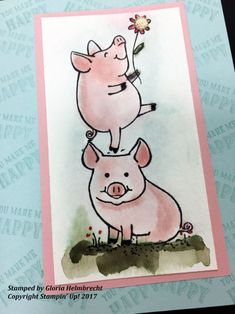 This Little Piggy by Stampin' Up! Sneak Peek: