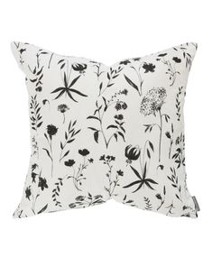Natural and feminine, our Juno Floral pillow cover brings a light and airy feel to your space. With its serene white hue and contrasting whimsical pattern, this pillow is the perfect addition to your home design. Down insert not included. Small Pillows, Floral Pillows, Couch Pillows, Decorative Pillows, Throw Pillows, Elderberry Gummies, Virtual Makeover, Nordstrom Sale, Tree Shop