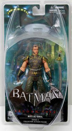NIB Batman Arkham City RA'S AL GHUL Series 3 Action Figure DC Collectibles