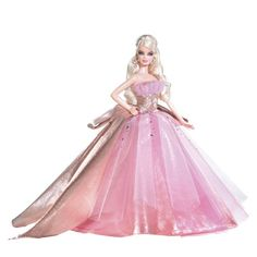 PURCHASED - Barbie 2009 Holiday Doll Barbie http://www.amazon.com/dp/B001S4TU08/ref=cm_sw_r_pi_dp_Fk9vub0C7HD67