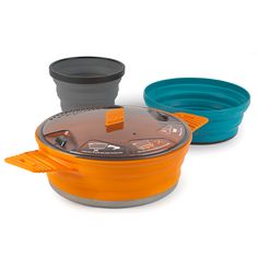 X-Set 21 l Sea to Summit collapsible backcountry pots and dishes l Backpackers dream l Camp kitchen l #stsXmarkstheSpot