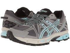 ASICS ASICS - GEL-KAHANA(R) 8 (TITANIUM/CLEARWATER/SILVER) WOMEN'S RUNNING SHOES. #asics #shoes #