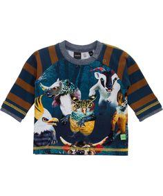 Molo coole baby t-shirt met monsters. molo.nl.emilea.be