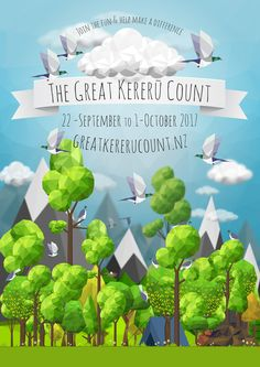 Observations made and Kererū counted during the Great Kereru Count 2017 Citizen Science, Science Projects, Country Life, Counting, Fun, How To Make, News, Design, Country Living