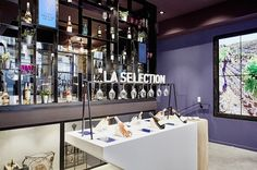 Le Club Francais du Vin opens store to bring online offer to life | Design agency Generous worked on space planning, defining customer journeys and developing interiors and graphics for the store