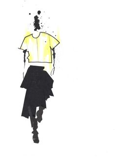 Marc by Marc Jacobs SS15 Ilustration by Julie Houts