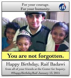 Raif Badawi ➩ SIGNEZ: www.jesuisraif.ca