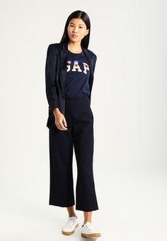 TEE - T-shirt z nadrukiem - true indigo
