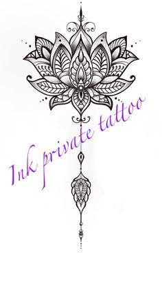 Lotus Tattoo Design, Lotus Design, Tattoo Designs, Girl Back Tattoos, Wrist Tattoos, Small Tattoos, Easy Doodles Drawings, Simple Doodles, Private Tattoos