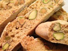 Pistachio & rosewater biscotti