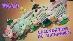 DIY_ CALENDARIOS DE BICHINHOS / ELISANGELA MOTTA