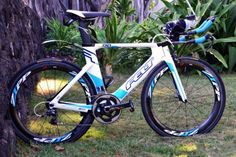 Mirinda Carfrae's Felt Bike from Kona