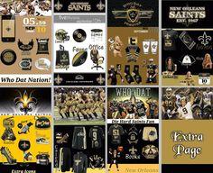 Are you ready for some New Orleans Saints football????? #NFL #whodat #drewbrees #markingram #saints #SeanPayton #MercedesBenzSuperdome #NFCSouth #HurricaneKatrina #goldandblack #homepackbuzz #buzzlauncher