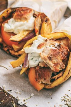 For an authentic taste of Greece, try our gyros or shwarma recipe right at home. You'll be transported to the land of Greek food immediately. It's easy, fun and delicious gyros that everyone will love. #GyrosPita #Shwarma #GyrosRecipe