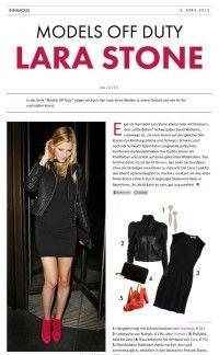 Lara Stone – Models Off Duty | Infamous Magazine