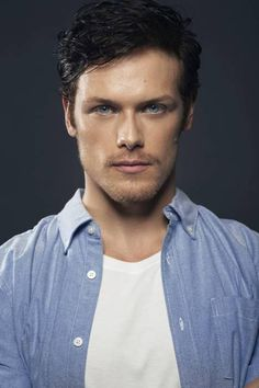 Sam Heughan-Scottish actor that auditioned for the role of Jamie Fraser. Diana's top choice for the role. Looks damn close!