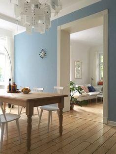 Veränderung #einrihctung #dekoration #interior #wohnzimmer #esszimmer #livingroom #diningroom #blau #skandinavisch #scandinavian Foto: HotchocolateDrop