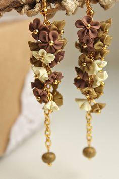 Miniflower earrings | Flickr - Photo Sharing!