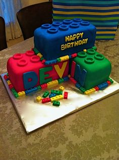 Lego Birthday Cake — Children's Birthday Cakes