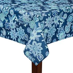52 x 70 Oblong Summer Fun Clam Bake//Seafood Shack Vinyl Flannel Back Tablecloth Elrene Home Fashions