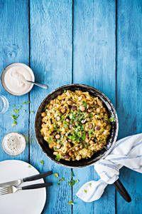 Kaali-makkarapannu |K-Ruoka Koti, Curry, Ethnic Recipes, Curries
