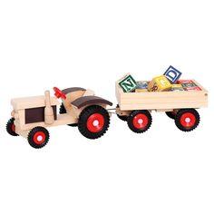 Bino Traktor mit ABC-Anhänger