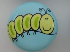Caterpillar... Painted Rock Ideas