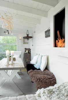 Balkongestaltung, Die Sie Zum Träumen Bringt | Idéer För Hemmet ... Einrichtungsideen Wintergarten Veranda