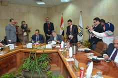 Assiut University|University News|The President of Assiut University signs an agreement with Orman Association to support the Cardiac Center