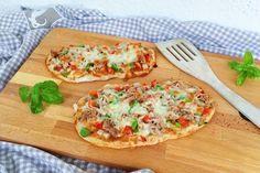 Wir haben das perfekte Pizzarezept für dich Proteinreiche Pizzabrötchen mit…