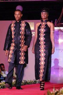 African kitenge fashion for Couples by ZolofAfrikanWears on Etsy, $250.00