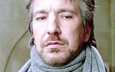 "alanprickman: "" "" Alan Rickman + His eyebrows ↳ requested by hp-rickman "" """