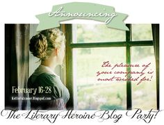 Accordion To Kellie: Literary Heroine Blog Party and Giveaway - 2015
