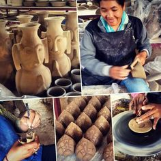 Visit of the this morning as usual! of by khmer_ceramics Siem Reap, Ceramic Art, Cambodia, Amazing Art, Pottery, Ceramics, Centre, Instagram Posts, Ceramica
