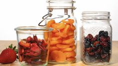 Dried fruit packs intense flavor into homemade preserves