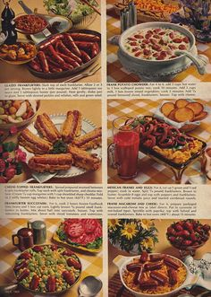 Hot dogs always suffer in retro recipes