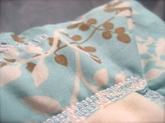 Twig Framed Cozy Baby Blanket by StitchofStyle on Etsy, $22.00
