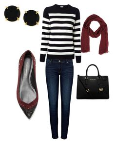 """""""Untitled #5"""" by mercedes-acosta-benitez on Polyvore featuring Anine Bing, Yves Saint Laurent, Rebecca Minkoff, Tru Trussardi, MICHAEL Michael Kors and Vince Camuto"""