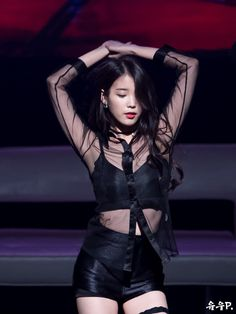 IU as Cindy on 'Producers', performing '23'